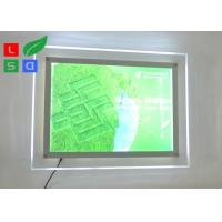 China Environmental Protection LED Light Box Sign , Single Side 2835 SMD Ultra Thin Light Box wholesale