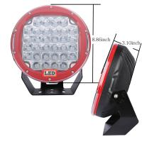China 10'' Inch Round 225w Car LED Fog Lights Truck Driving Light Forest Bottom wholesale