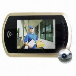 """China Digital Door Peephole Viewer, iPhone App, 3.5"""" LCD, Night Mode, Fit 120mm Thick Door, Door Camera wholesale"""