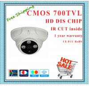 Quality 700TVL BYD CMOS camera with IR-CUT plastic mini Dome security camera surveillanc for sale