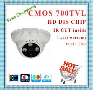 China 700TVL BYD CMOS camera with IR-CUT plastic mini Dome security camera surveillance Camera array indoor CCTV Camera wholesale