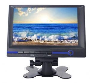China 7 TFT LCD HD Monitor with HDMI/VGA/AV1/AV2/Audio Input 800x480 16:9 Built-in Speaker on sale