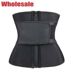 China Women'S Fitness Waist Trimmer Belt Neoprene Waist Trainer Tummy Control wholesale