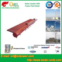 China Water Tube Boiler Header Manifolds TUV Standard , Water Boiler Header wholesale
