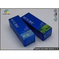 China Hot Stamping Foil Logo Package Cream Lotion Box / Cardboard Packing Boxes wholesale