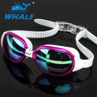 China Anti-Shatter Crystal Clear Comfortable Swimming Goggles / Adult Swim Goggles wholesale