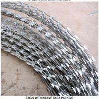 China CBT-65 concertina razor wire for protective wholesale