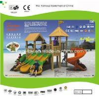 China Colorful Wooden Series Outdoor Playground Equipment (KQ10152A) wholesale