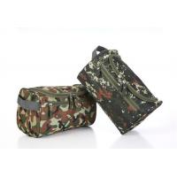 China Convenient Zipper Side Travel Cosmetic Bags Large Capacity With Arc Shaped Hook wholesale
