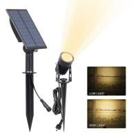China Solar Spot Garden Lights Ground Stick Into Outdoor Landscape Lighting Sensor ActivaedAuto OFF/ON For Patio,Yard wholesale