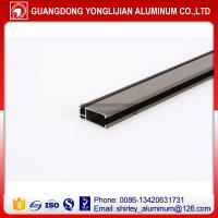 China Champagne anodized aluminum extrusion profile window door design wholesale