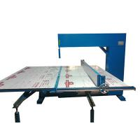 China Vertical Polyurethane Memory Foam Cutting Machine Adjustable Speed Manual wholesale