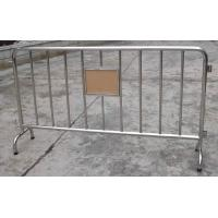 Wholesale Portable Barriers fence panel 1100 x 2200mm from china suppliers