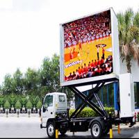 Quality Outdoor P10 Full Color Truck Mobile LED Display For Advertising for sale
