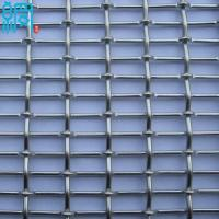 China Aluminum Crimped Metal Wire Mesh For Architectural Decoration wholesale