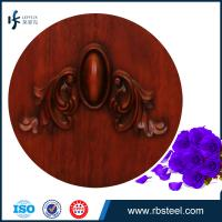Quality Wooden exterior double swing opening doors for villa for sale