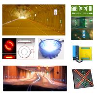 China Tunnel Guidance Traffic Control Systems Safety Guiding Warning Lamps wholesale
