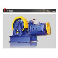 China Elevator Parts / Geared Traction Machine With AC Motor , Load 800 - 1000 KG  SN-TMYJ210A wholesale