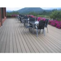 China WPC (wood and plastic composite) Outdoor Decking wholesale