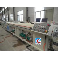China ISO CE Double Screw Extruder PVC Garden Pipe Plastic Extrusion Equipment wholesale