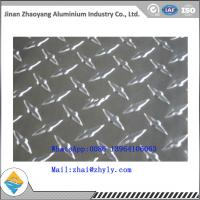 Quality 3003 H14 Ribbed Aluminum Sheet / Aluminum Tread Plate For Refrigerator / Solar for sale