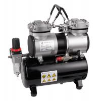 China Two cylinder portable airbrush mini compressor AS-196 wholesale