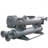 China Straight Type Shell Dry Expansion Type Evaporator stainless steel fin wholesale