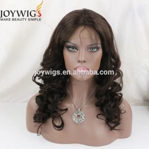 China AAAAA grade Brazilian human hair machine made wig on sale