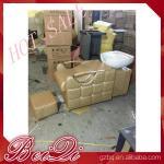 China beauty salon furniture hair washing sink salon equipments backwash shampoo unit bed wholesale