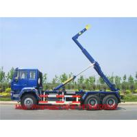 China Heavy Duty Howo 6X4 Hook Lift Garbage Truck / 18 Tons 10 - 12m³ Roll Off  Truck on sale