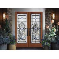 Buy cheap durability  Sliding Glass Doors Theft Proof Brass / Nickel / Patina  life cycle from wholesalers
