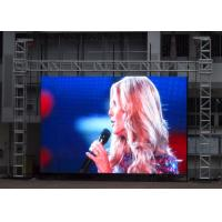 Quality P8 Video Outdoor Stage Led Screens Display High definition Super Slim , Ip65 for sale