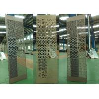 China Perforated Aluminum Panels Made From Custom Pattern Designs For Special Decoration wholesale