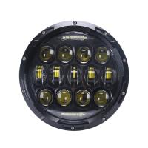 China 10 - 30 Volt DC 7'' Jeep Wrangler Headlights / 75w LED Car Headlights wholesale
