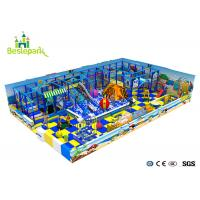 Customized Indoor Soft Playground Anti - Static 2CM Thickness With Protective Web