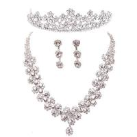 Quality Imperial Crown Jewelry Necklace Bride Wedding Accessories for Decoration for sale