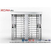 China Security Controlled Full height Turnstile Security Gates Rapid Identification with Double Door with RFID Card wholesale
