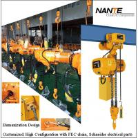 Buy cheap Light Duty 2ton Electric Mechanical Engine Lifting Chain Hoist with Trolley from wholesalers