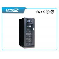 China 50KVA / 100KVA IGBT LCD Online High Frequency UPS With Modular Design and DSP Tech wholesale