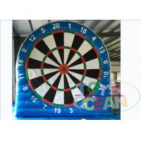 China 0.55mm PVC Tarpaulin Inflatable Sport Game Soccer Darts / Football Darts 6 * 5m wholesale