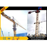 China Topless Tower Crane Jib Length 55m Strong Torsional Strength 41m Freestanding Height wholesale