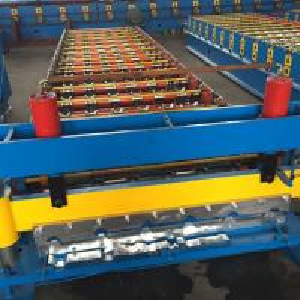 Buy cheap Durable Metal Roofing Machine / Corrugated Sheet Making Machine Galvanized Aluminum from wholesalers