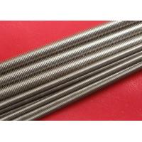 China Plain Stainless Steel Threaded Rod Grade A2 / A4 M100 wholesale