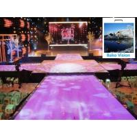 Buy cheap P4.81 Outdoor Rental Led Backdrop Floor Display Screen High Definition High from wholesalers