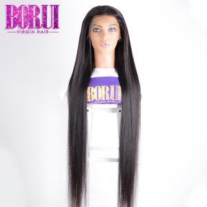 10A straight Unprocessed Brazilian Virgin Hair Full Lace  Human Hair Wigs