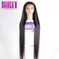 Quality 10A straight Unprocessed Brazilian Virgin Hair Full Lace  Human Hair Wigs for sale