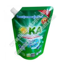 China liquid soap packaging, stand up spout pouch bag for liquid, liquid packaging wholesale