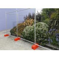 Buy cheap Swimming Pools Temporary Construction Fence Panels / Building Site Fencing from wholesalers