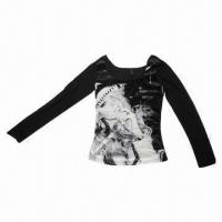China Velour Printed Top wholesale