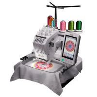 China Simple Operation One Head Computer Easy Embroidery Machine Higher Precision on sale